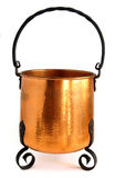 Copper Pot Royalty Free Stock Photo