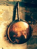 Copper pot Stock Image
