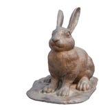 Copper rabbit Stock Photo