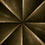 Copper leather radial star pattern royalty free stock photos