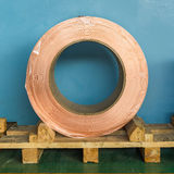Copper rolled product Stock Photo