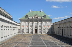 Copper-Roof Palace in Warsaw, Poland Royalty Free Stock Photos