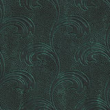 Copper seamless texture with flowers pattern on a oxide metallic background. 3d illustration Stock Images