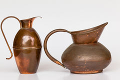 Copper Jugs Serving Royalty Free Stock Photos