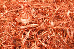 Copper shavings - Series 4 Royalty Free Stock Photography