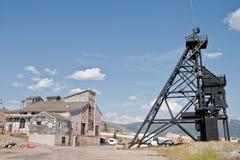 Copper-Silver Mine stock image