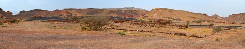Copper Sites. Ancient Copper sties Khirbet en-Nahas, Jordan royalty free stock photography