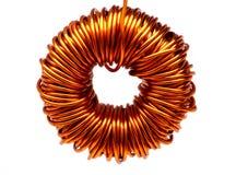 Copper spool Stock Image