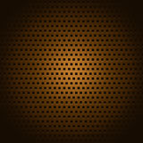 Copper square pattern Royalty Free Stock Image