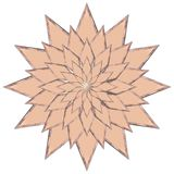 Copper Star Royalty Free Stock Image
