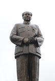 Copper statue of chairman Mao Zedong on October 1,. SHAOSHAN - OCTOBER 1: Copper statue of chairman Mao Zedong on October 1, 2011 in Shaoshan, China. The Stock Image