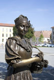 Copper statue Royalty Free Stock Photos