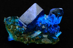 Copper sulfate Stock Image