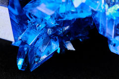 Copper sulfate Stock Photo