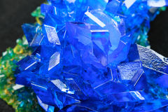 Copper sulfate Royalty Free Stock Photo
