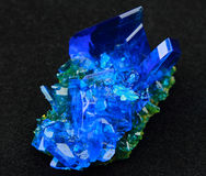 Copper sulfate Stock Photography