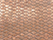 Copper surface Stock Image