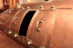 Copper tank Stock Image