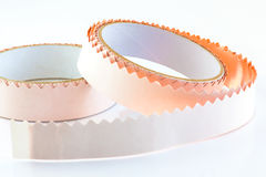 Copper tape Royalty Free Stock Images