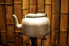 Copper tea kettle Royalty Free Stock Photo