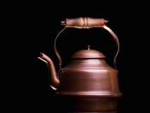 Copper teapot Royalty Free Stock Photo
