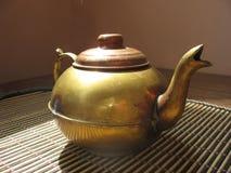 Copper teapot Royalty Free Stock Photos
