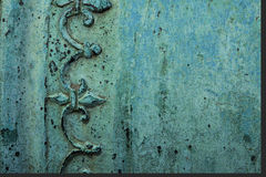 Copper texture. Background image of antique copper texture royalty free stock images
