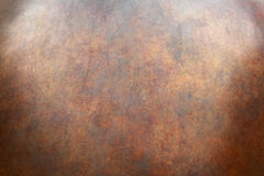 Copper texture surface Royalty Free Stock Photography