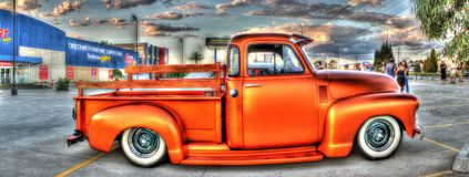Copper toned Chevy pick up truck Royalty Free Stock Image