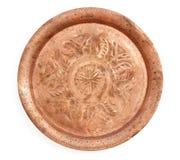Copper tray Royalty Free Stock Photo