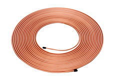 Copper Tube Royalty Free Stock Photography