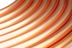 Copper Tube Stock Photography