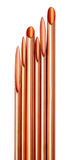 Copper Tube Stock Photo