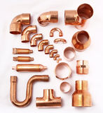 Copper Tube Royalty Free Stock Image