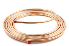 Copper tube Stock Photos