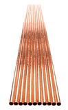 Copper Tube Group Royalty Free Stock Photo
