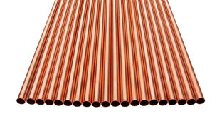 Copper Tube Group Royalty Free Stock Photography