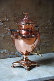 Copper Urn Stock Image