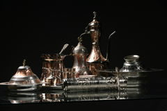 Copper utensils Royalty Free Stock Image