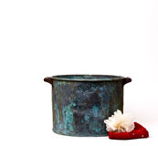 Copper Wash Tub Stock Photography
