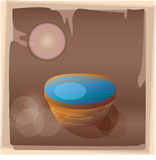 Copper water basin Royalty Free Stock Photos