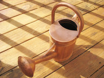 Copper Watering Can stock images