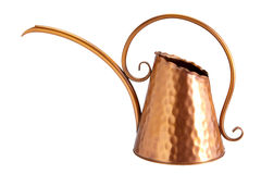 Copper Watering Can Royalty Free Stock Image