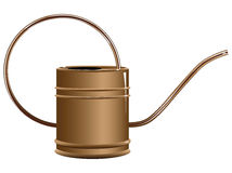 Copper watering can Stock Photos