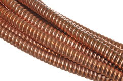 Copper wave Royalty Free Stock Image