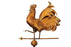 Copper weathercock Stock Image