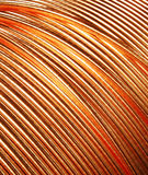 Copper Wire. On the studio lighting setting Stock Photo