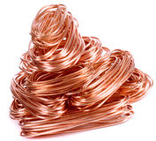 Copper wire Royalty Free Stock Photos