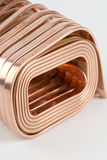 Copper wire. Close up of copper wire Stock Photography