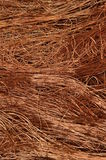 Copper wire background Stock Photography